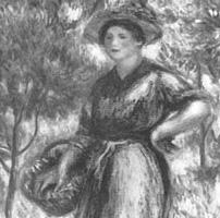 Femme au panier (Auguste Renoir)