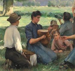 Le repas des Moissonneurs (Juilen Dupré )
