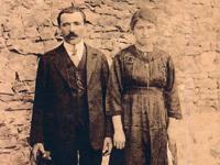 Mamé et son  mari Fortuné