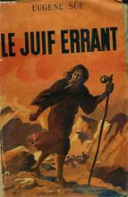 Le juif errant, illustration d'un ouvrage d'Eugène Sue (collection Le-Livre)